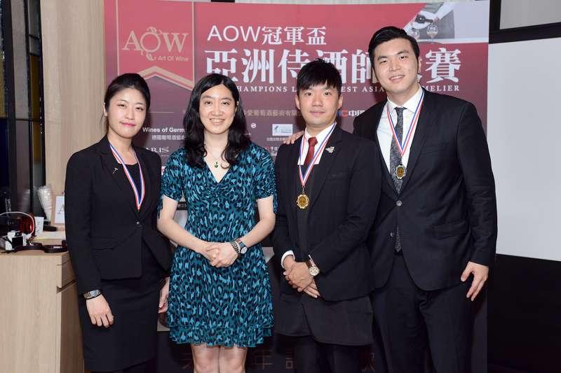 AOW 冠軍盃亞洲侍酒師大賽 頂尖餐廳侍酒師龍爭虎鬥